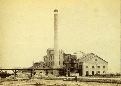 Foto 1: Lo zuccherificio, foto storica