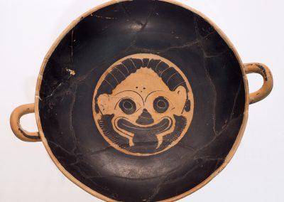 Foto 11: Kylix attica (coppa per il vino) a figure nere, ceramica, epoca preromana