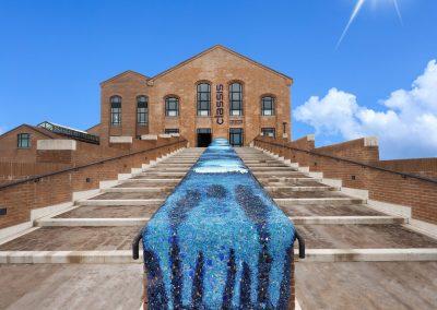Foto 2: la facciata esterna con la scritta Classis Ravenna. Museo della Città e del Territorio