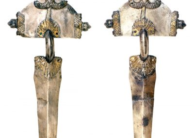 Foto 40: Coppia di fibule ad Arco, argento, con tracce di doratura, prima metà del V secolo