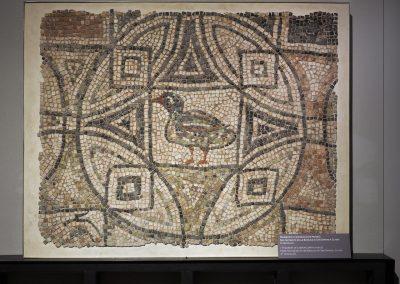 Foto 42: frammento di mosaico proveniente dalla Basilica di San Severo