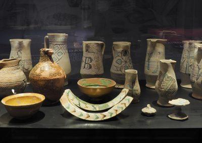 Foto 53: alcuni oggetti rinvenuti negli scavi di San Severo