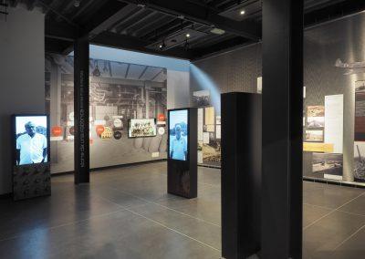 Foto 54: la sezione dedicata alla Fabbrica del Museo